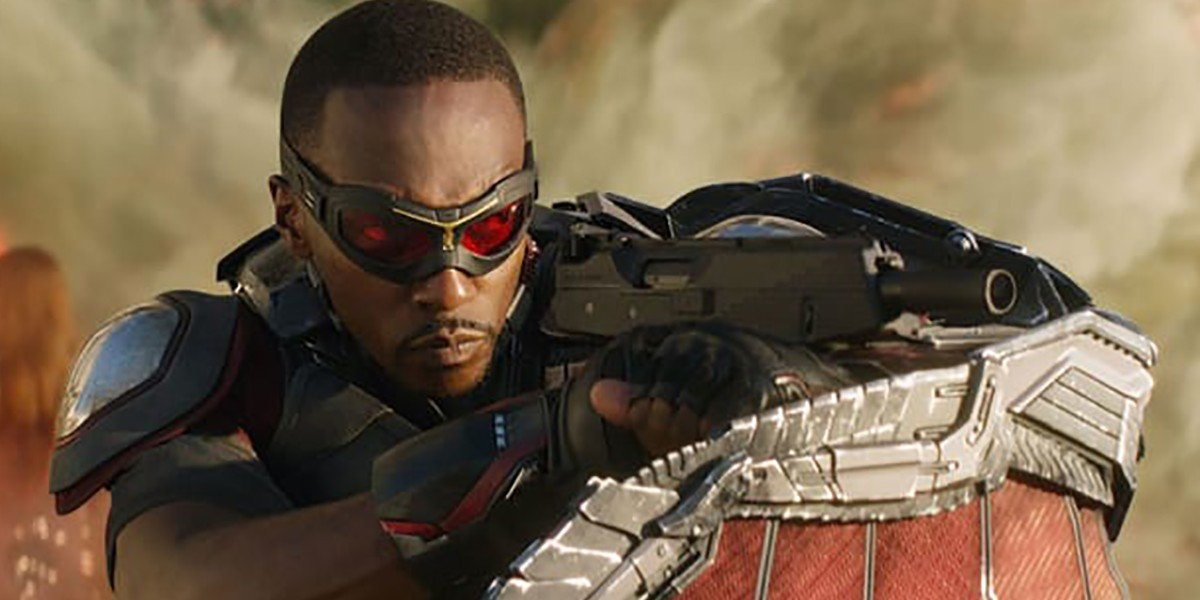 Anthony Mackie as Sam Wilson/The Falcon in Captain America: Civil War (2016)