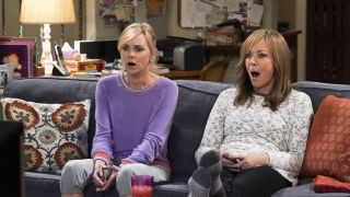 Anna Faris and Allison Janney star in Mom.