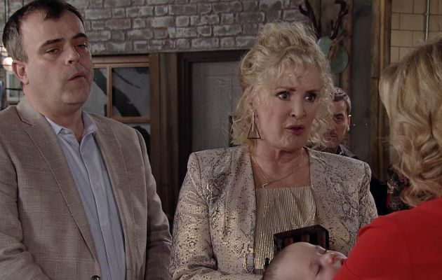 Liz in Coronation Street