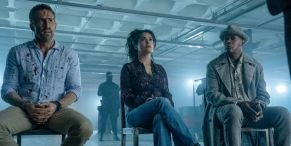 Ryan Reynolds And Salma Hayek Run From Very Bad Men To The Tune Of Britney Spears In First Hitman's Wife's Bodyguard Trailer