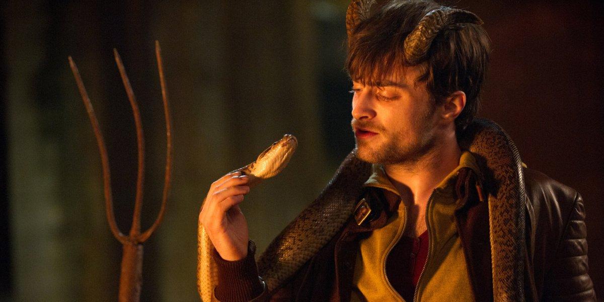 Daniel Radcliffe in Horns.