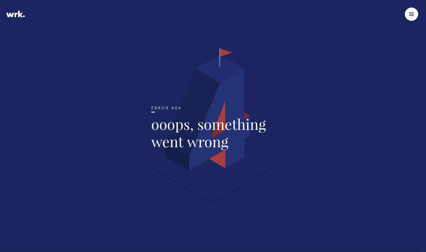 404 page: waark