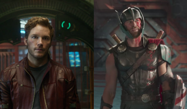 Star Lord Thor Bromance