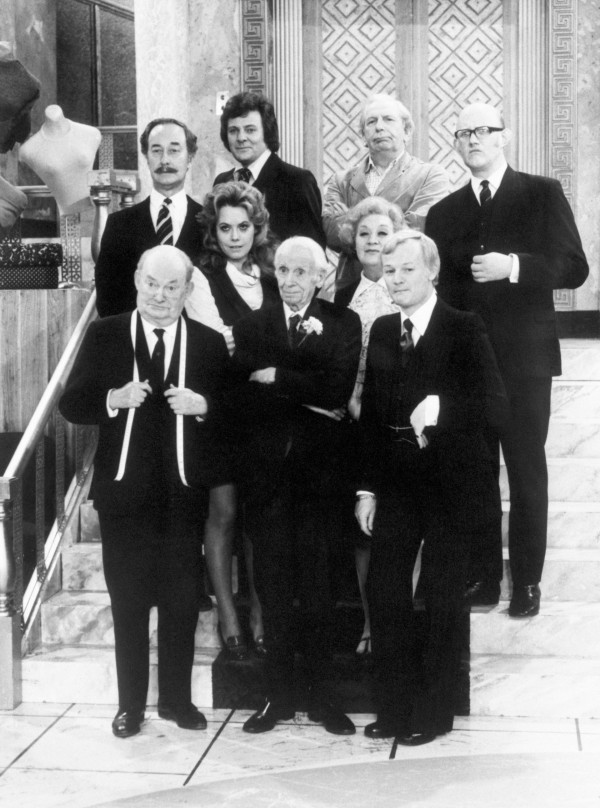 The cast of Are You Being Served? (PA)