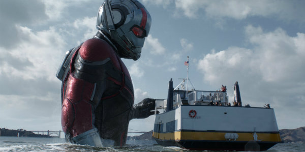 Ant-Man and the Wasp boat scene