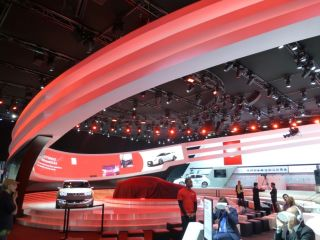HARMAN's Martin Provides Lighting for International Auto Show