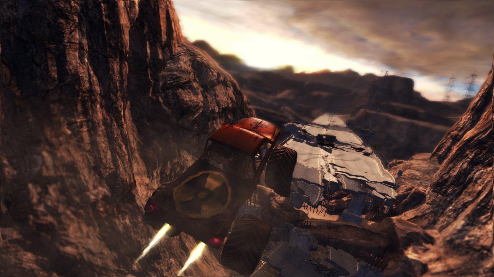 Duke Nukem Forever Screenshots Feature Duke's Atomic Monster Truck #16684