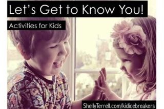 Let's Get to Know You! 20+ Icebreakers for Kids