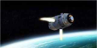 Raytheon's Standard Missile 3 art