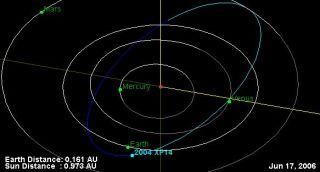 Huge Asteroid to Fly Past Earth July 3
