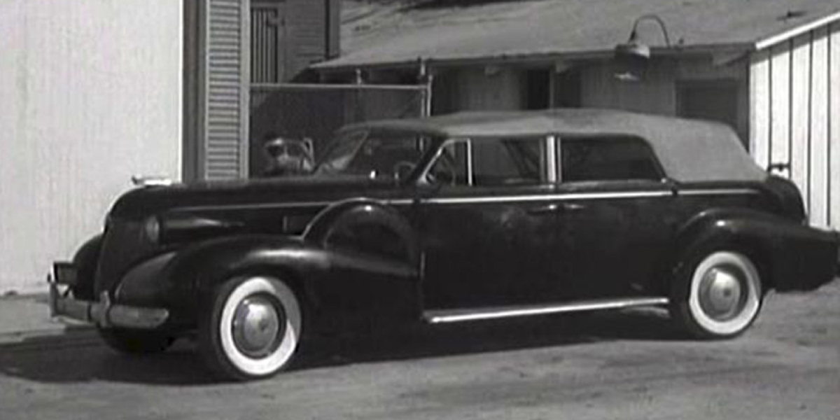 "The ""Batmobile"" from the 1940s Batman serials"