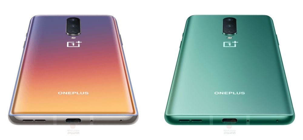 OnePlus 8 leaked colors make Samsung Galaxy S20 look boring
