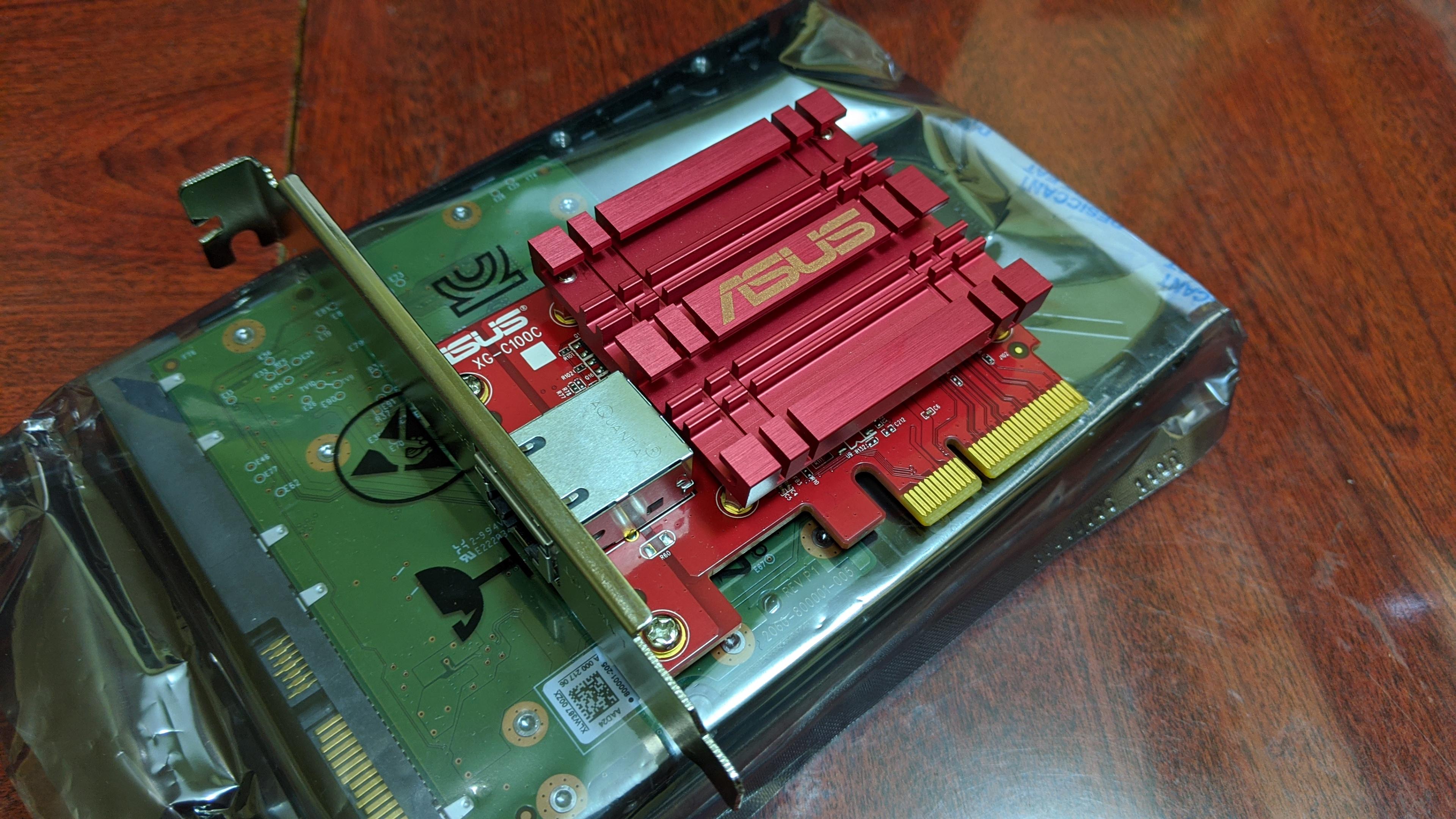 Asus XG-C100C network adaptor