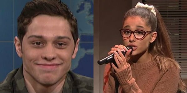Pete Davidson Ariana Grande Saturday Night Live