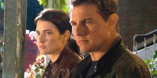Jack Reacher: Never Go Back Cobie Smulders and Tom Cruise