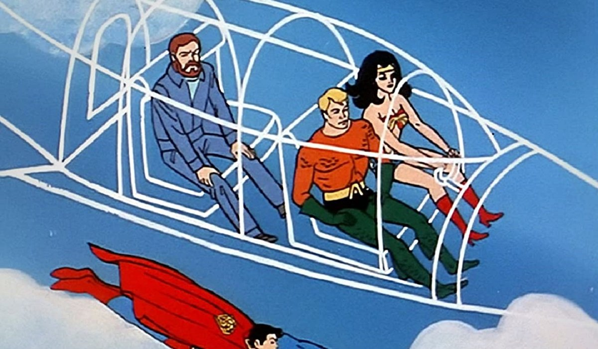 Flying Jet Super Friends