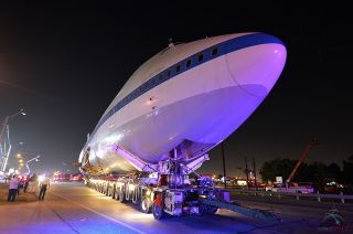 NASA's Shuttle Carrier Aircraft on the Move