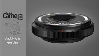 Olympus pancake lens deal