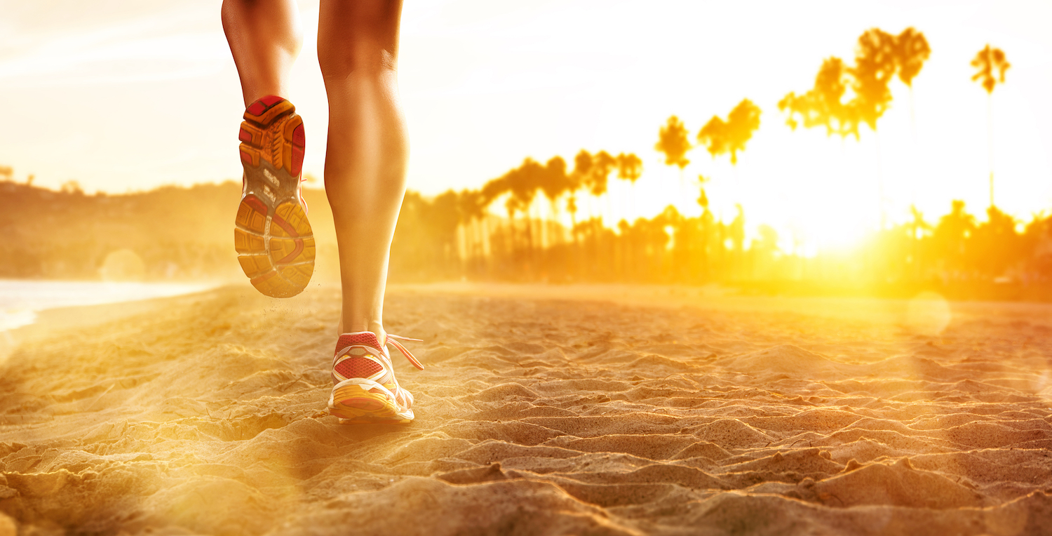 Is Running on the Beach Good for Your Body? | Live Science