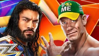 Roman Reigns and John Cena appear in promotional poster as headline show