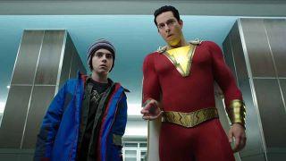 Zachary Levi as Shazam! in Shazam!