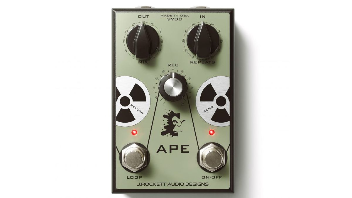 J. Rockett Audio wants to give your delay a vintage makeover with the APE delay preamp