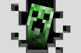 A Minecraft creeper.