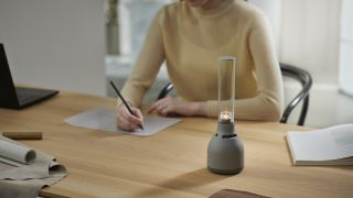Sony's new glass speaker looks like a candle