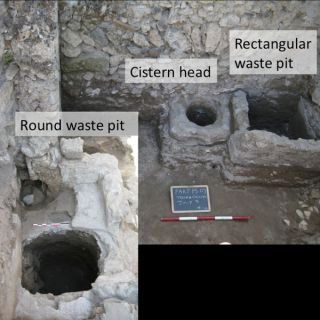 Pompeii trash pits and cistern. Residents' casual attitude toward trash explains why tombs were filled with household garbage, an archaeologist says.