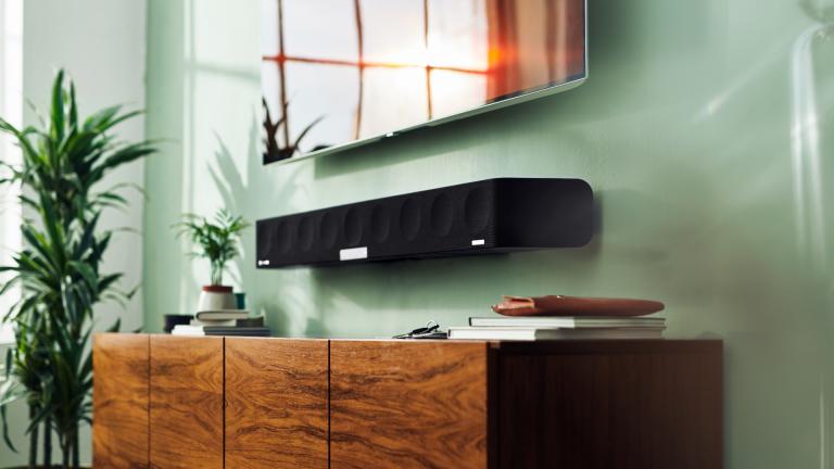 best surround sound system: Sennheiser Ambeo Soundbar lifestyle