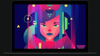 illustrator alternatives: Screenshot of Affinity Designer