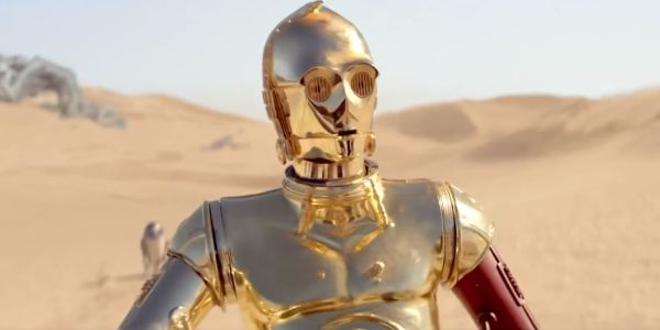 The One Thing C-3PO's ...C 3po Red Arm