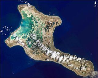 Kiritimati Island Christmas Island atoll