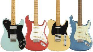 Fender Vintera Road Worn electric guitars