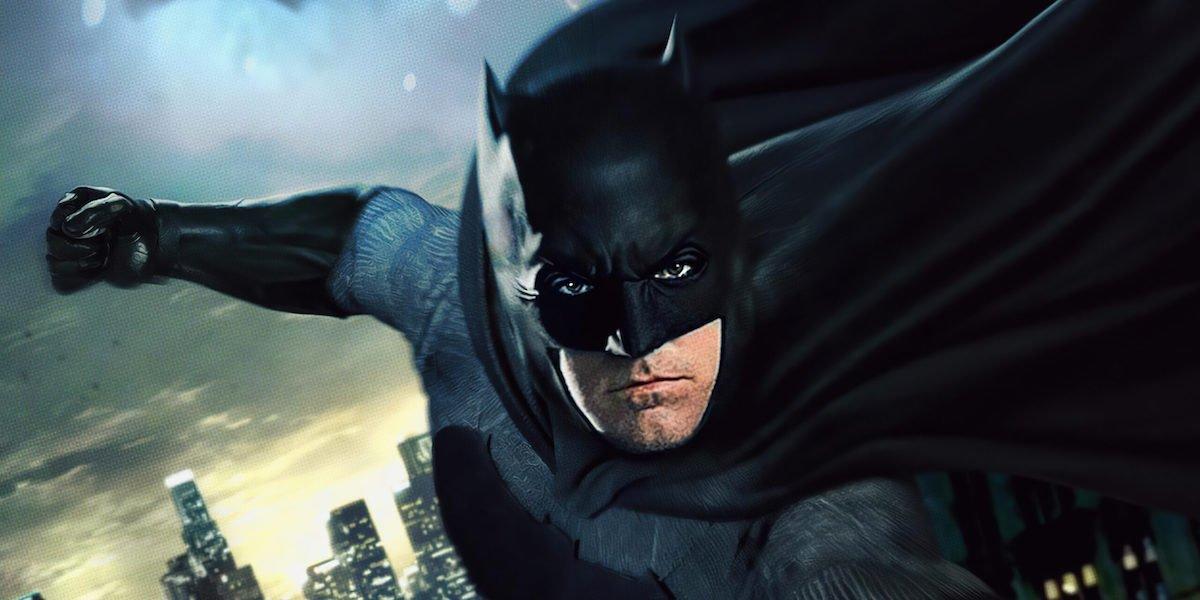 Ben Affleck's Batman promo image