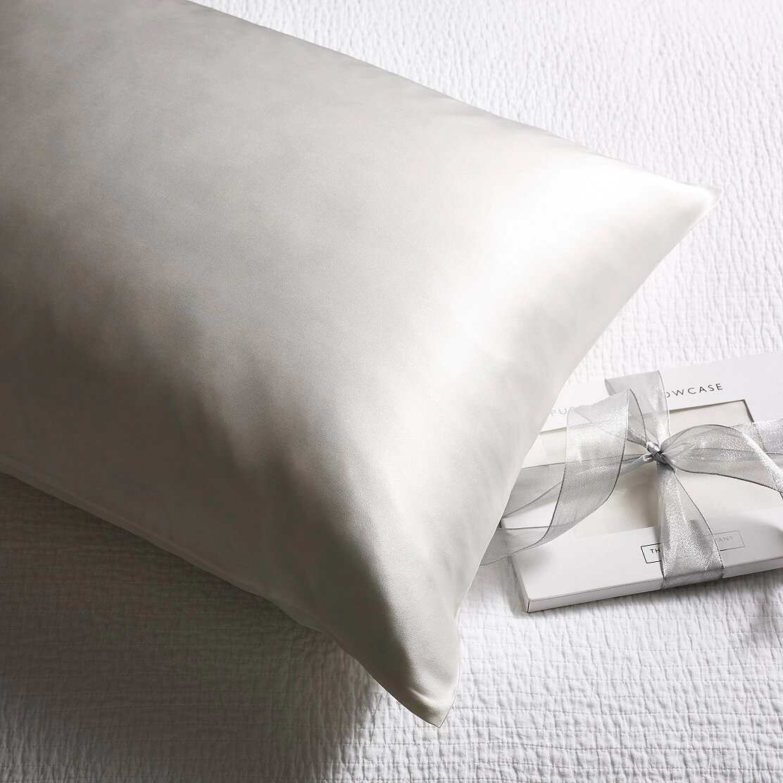 The White Company silk pillowcase