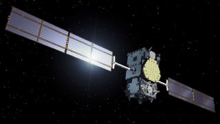A Galileo gps satellite