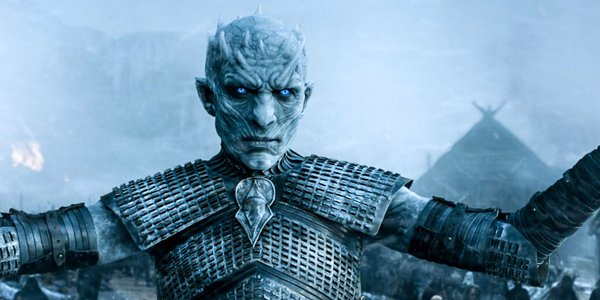 The Night King on Game of Thrones HBO