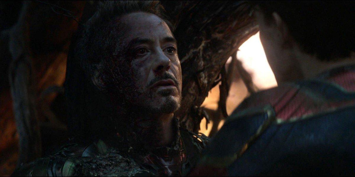 Tony Stark's death in Avengers: Endgame