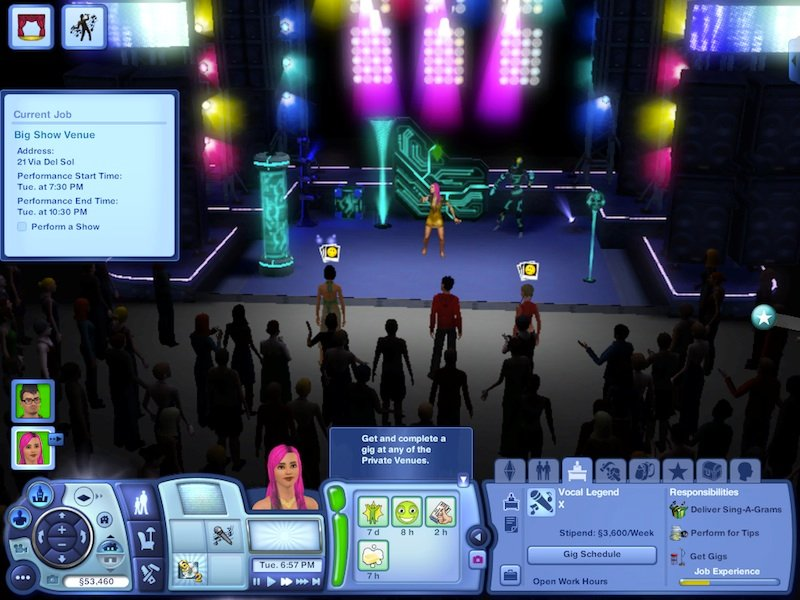 The Sims 3 Showtime Expansion Pack Review: Music, Magic And Acrobatics #21047