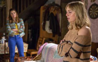 Conniving mum Chrissie convinces Belle to dump Lachlan in Emmerdale!