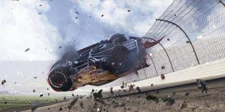 Lightning McQueen crash in Cars 3