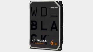 WD Black 6TB hard drive