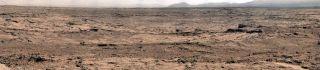 Curiosity Rover Rocknest Panorama