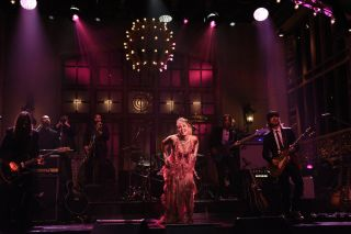 Miley Cyrus on Saturday Night Live