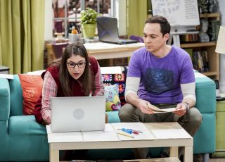 In The Citation Negation episode, Amy and Sheldon are devastated after learning from a Russian paper that Super Asymmetry has already been discovered and disproven.