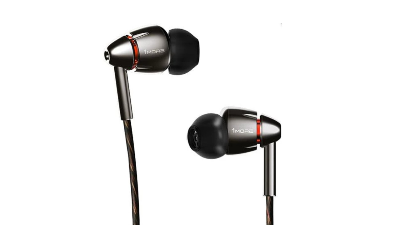 best earbuds: 1More Quad Driver In-Ear Headphones