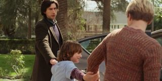 Adam Driver and Scarlett Johansson in Marriage Story