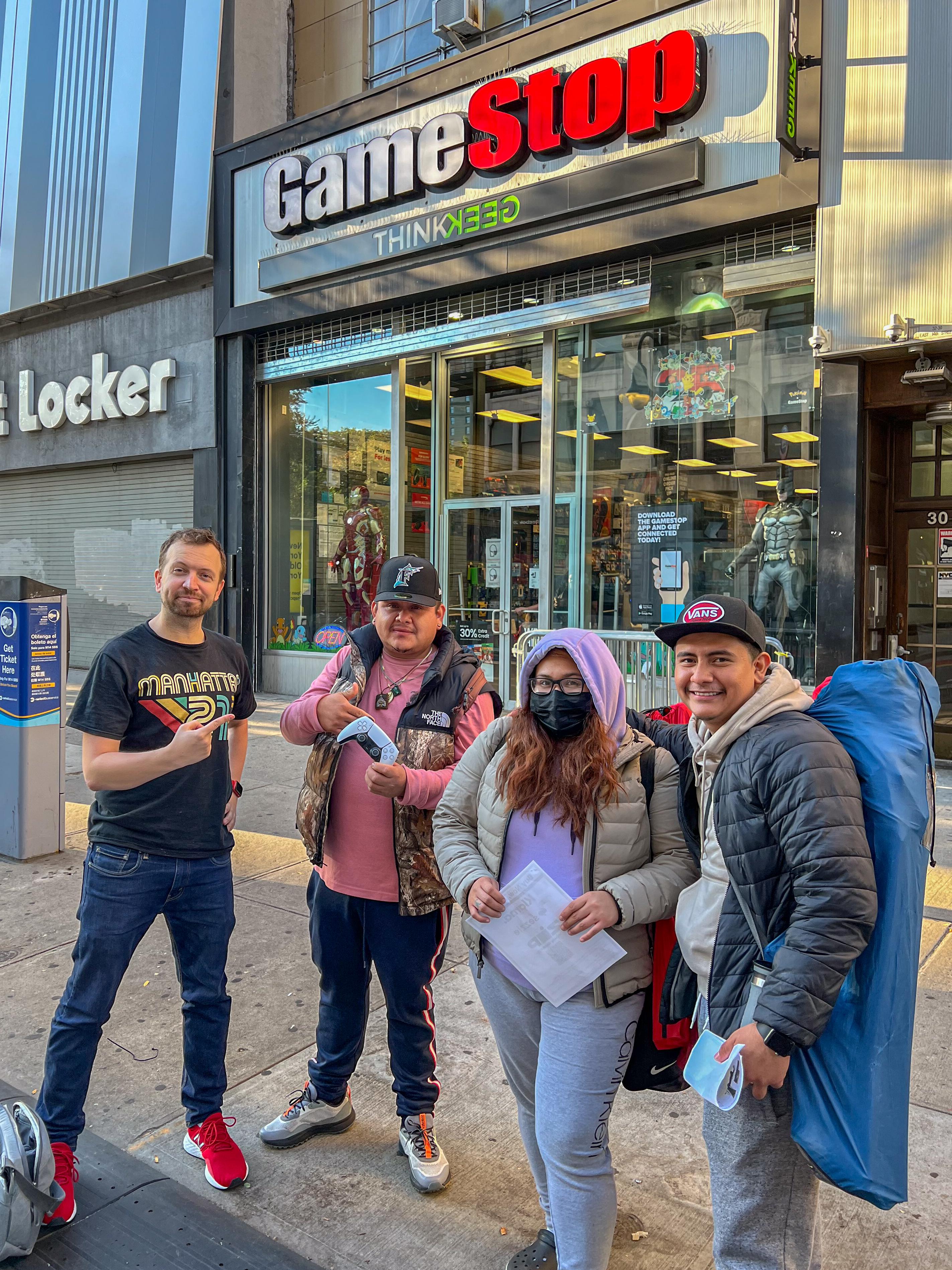 PS5 restock GameStop in-store event Matt Swider