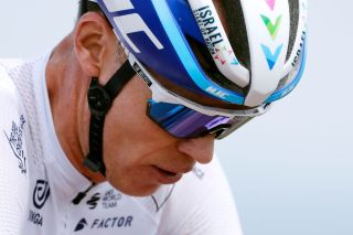 SAINT HAON LE VIEUXON FRANCE JUNE 01 Christopher Froome of United Kingdom and Team Israel StartUp Nation at arrival during the 73rd Critrium du Dauphin 2021 Stage 3 a 1722km stage from Langeac to Saint Haon Le Vieuxon UCIworldtour Dauphin dauphine June 01 2021 in Saint Haon Le Vieuxon France Photo by Bas CzerwinskiGetty Images
